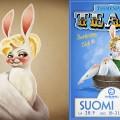 Burlesque Poster bunnies, 2012