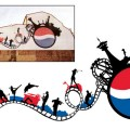 Pepsi Wall painting, 2008