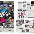 Reikäreuna-elokuvafestivaali / Taideyhdistys Roihu ry / festivaalin kaikki markkinointimateriaali / 2005-2014