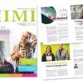 Tiimi -asiakaslehti 2014  / TAOKK/TAMK / lehden taitto, 20 sivua / 2013